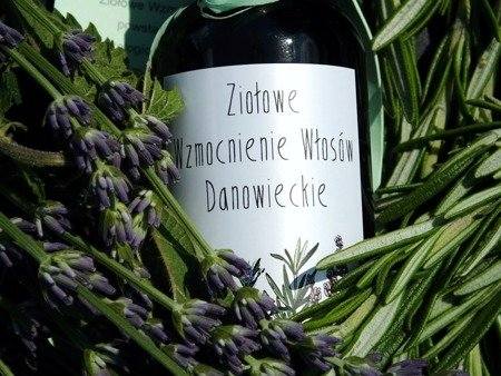 Ziołowe wzmocnienie włosów Danowieckie